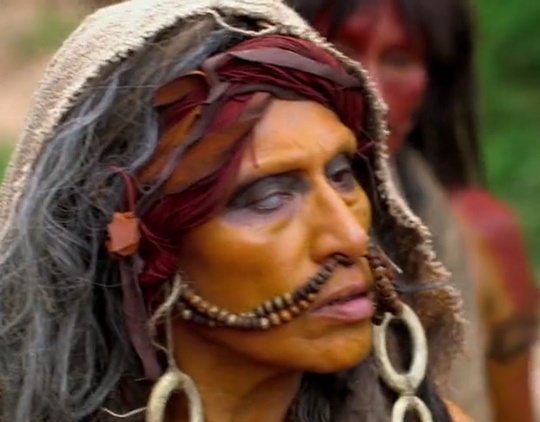Antonieta Pari در صحنه فیلم سینمایی جهنم سبز