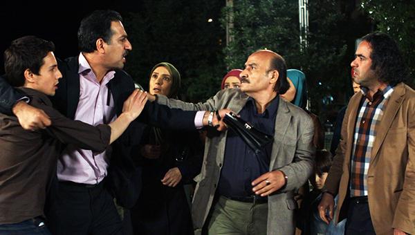 حسن معجونی و محمد نادری در سریال تلوزیونی شمعدونی