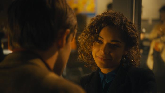 Antonia Thomas در صحنه فیلم سینمایی Hello Carter