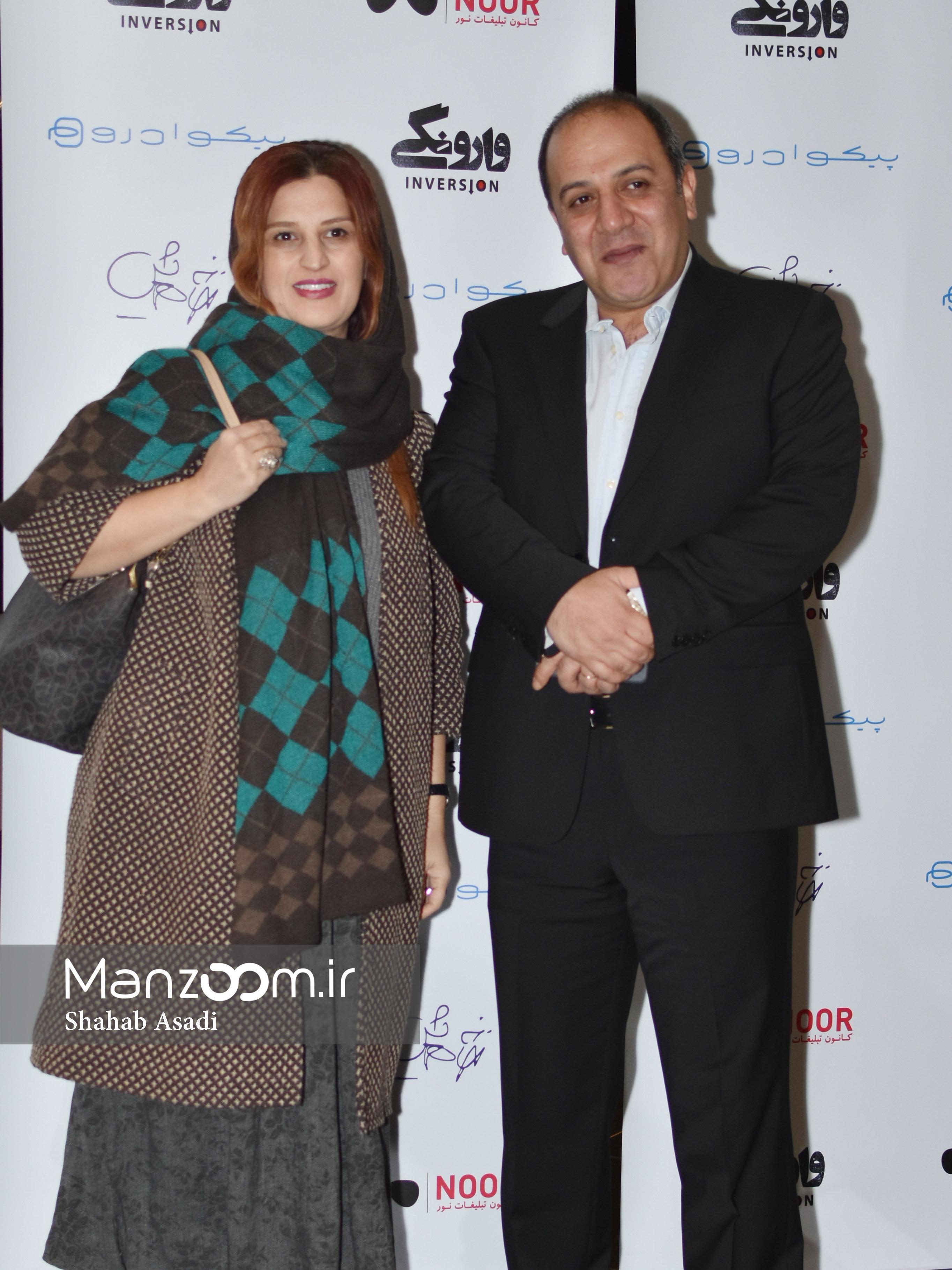 سحر دولتشاهی و لیلا حاتمی در اکران خصوصی «وارونگی»