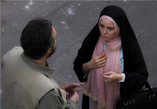 الناز حبیبی و کامبیز دیرباز در فیلم ماه گرفتگی