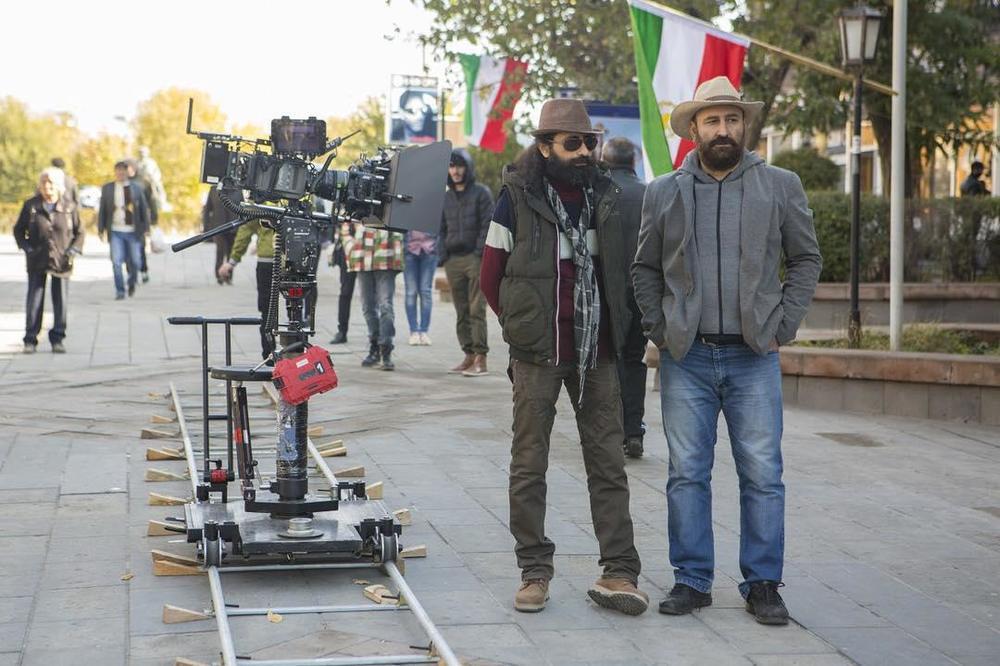 مهران احمدی در پشت صحنه  فیلم سینمایی مصادره