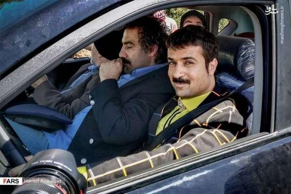 محسن تنابنده و احمد مهرانفر در سریال پایتخت 5