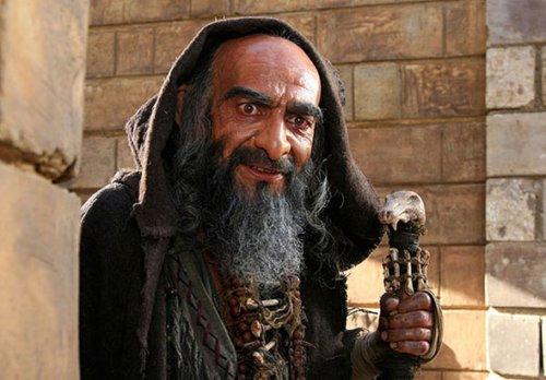 محمدمهدی فقیه در صحنه فیلم سینمایی ملک سلیمان
