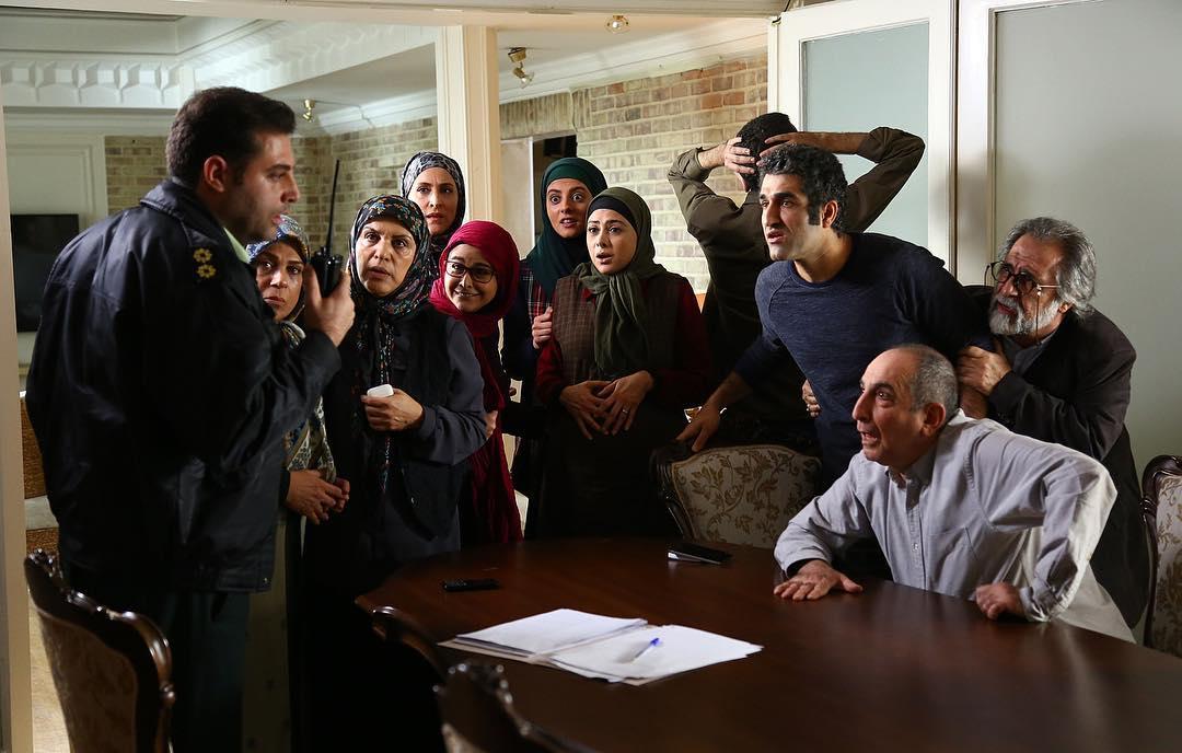 رویا تیموریان در سریال دیوار به دیوار