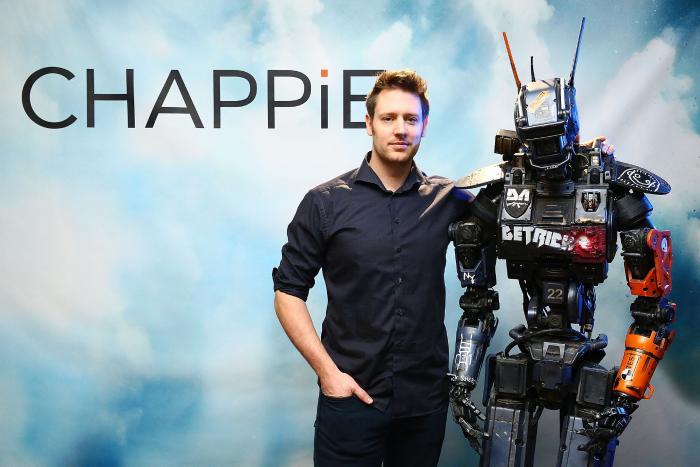 Neill Blomkamp در صحنه فیلم سینمایی چپی