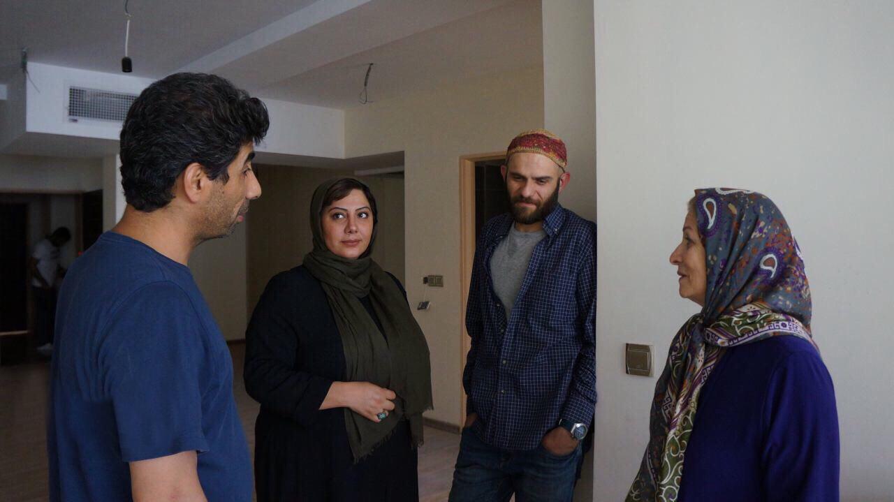بابک حمیدیان و زهرا داوودنژاد در فیلم شماره 17 سهیلا