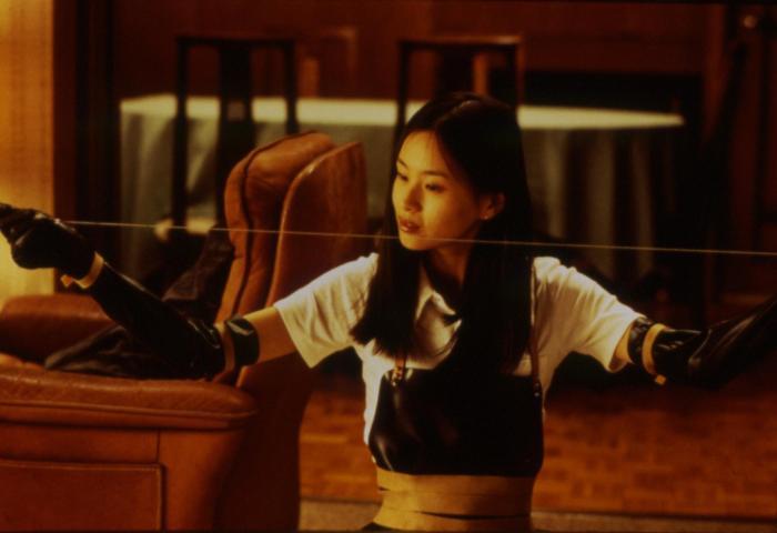 Eihi Shiina در صحنه فیلم سینمایی آزمون بازیگری