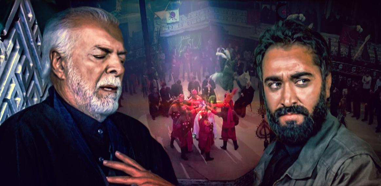 چنگیز جلیلوند در پوستر سریال تلویزیونی یلدا