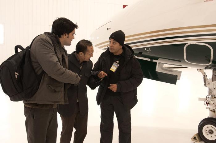 Rahul Bose در صحنه فیلم سینمایی Vishwaroopam به همراه Kamal Haasan و Jaideep Ahlawat