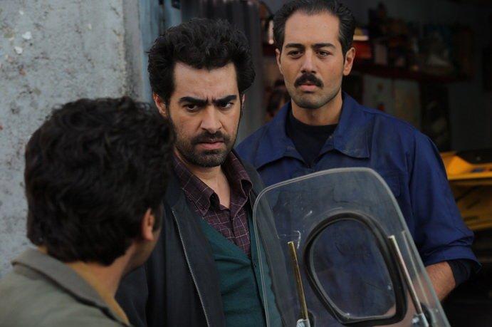 نیما راد در صحنه فیلم سینمایی چهارشنبه به همراه سید شهاب حسینی