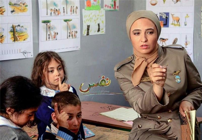 گلاره عباسی در فیلم سینمایی نفس