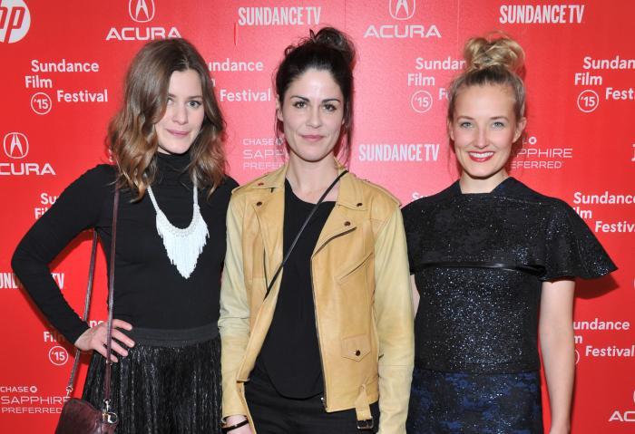 Anne Sewitsky در صحنه فیلم سینمایی Homesick به همراه Silje Storstein و Ine Marie Wilmann