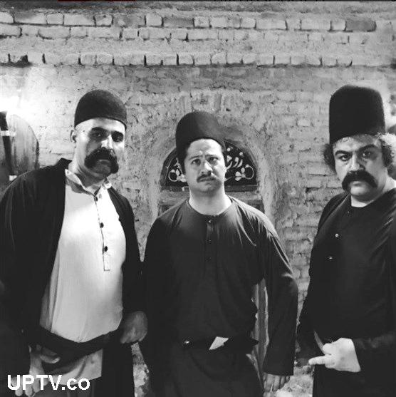 علی صادقی و مهران غفوریان در فیلم سینمایی داش آکل