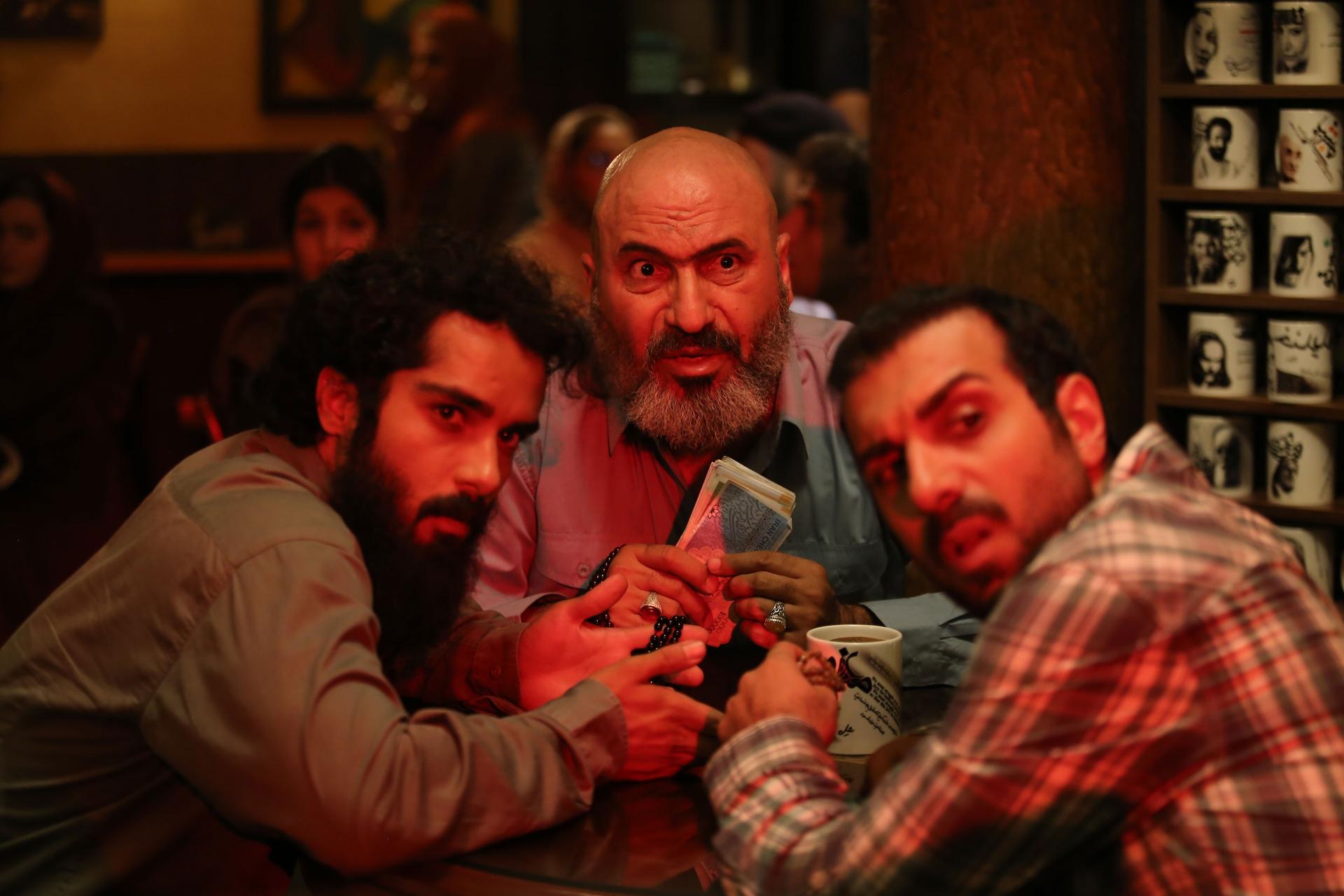 حمید فرخنژاد و ساعد سهیلی در فیلم گشت ارشاد 2