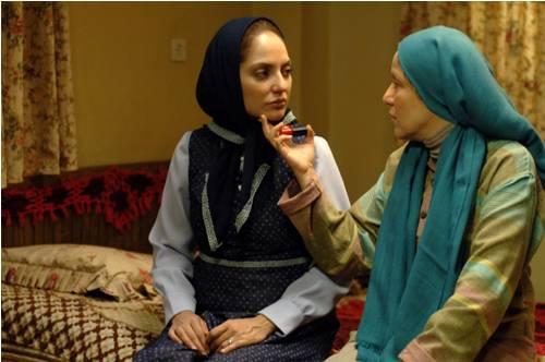 مهناز افشار و پانتهآ بهرام در فیلم بیگانه