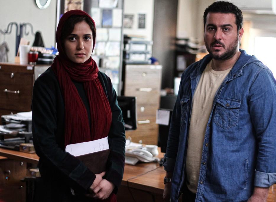 پریناز ایزدیار و محسن کیایی در فیلم یک روز بخصوص