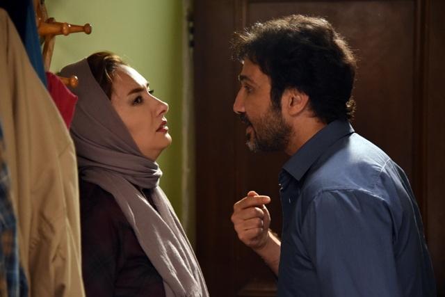 هانیه توسلی و محمدرضا فروتن در فیلم نقطه کور
