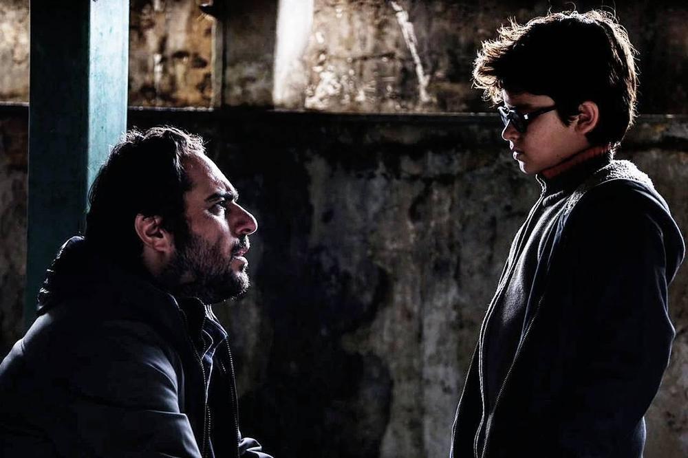 محسن کیایی و باران کوثری در فیلم سینمایی آستیگمات