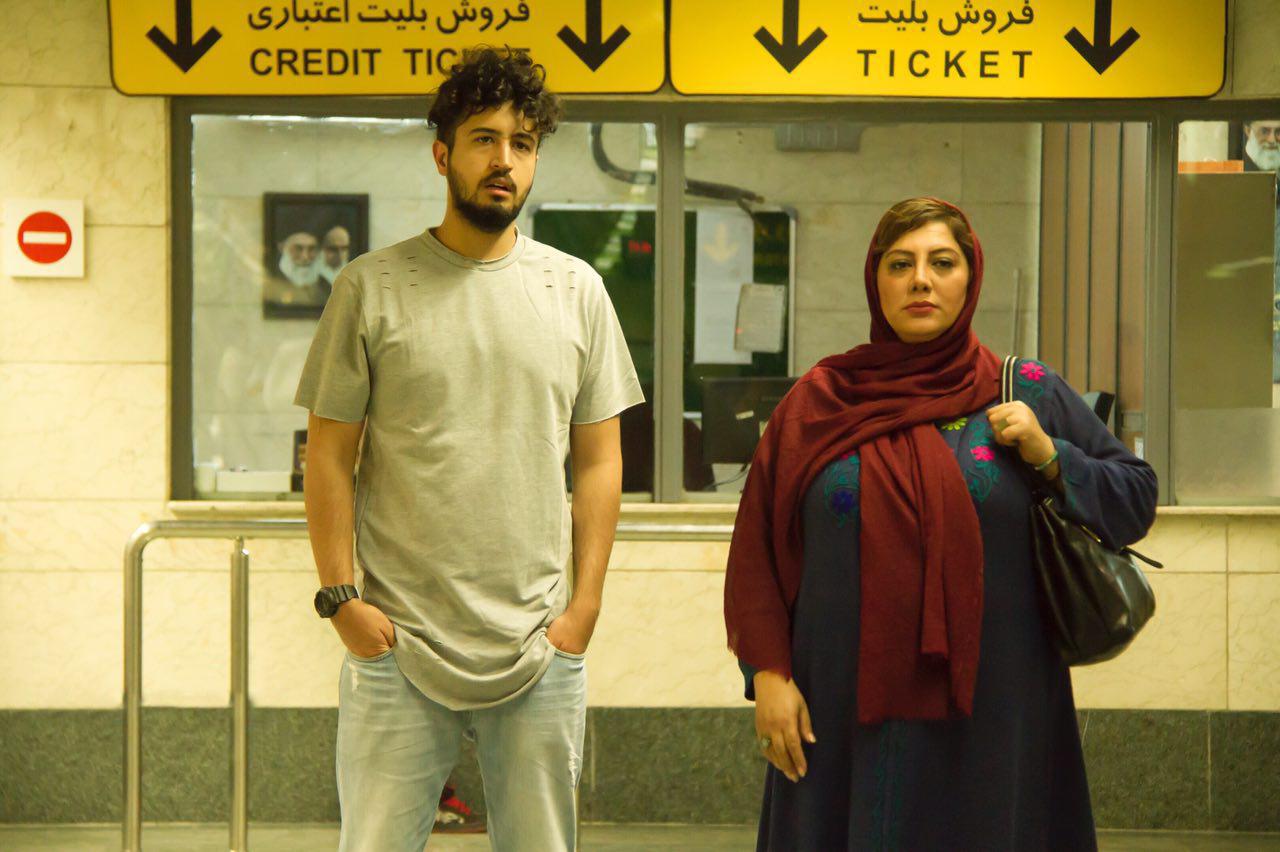 مهرداد صدیقیان و زهرا داوودنژاد در فیلم شماره 17 سهیلا