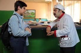 عباس جمشیدیفر در صحنه سریال تلویزیونی بچه مهندس 2
