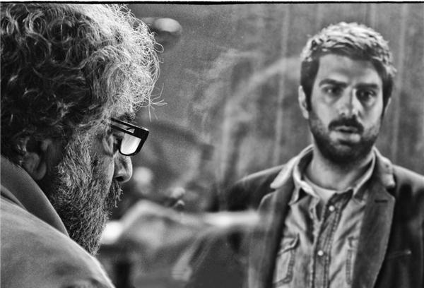 مسعود کیمیایی و پولاد کیمیایی در فیلم سینمایی قاتل اهلی