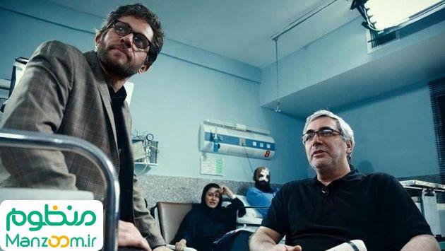 مریلا زارعی در پشت صحنه فیلم سینمایی به وقت شام به همراه هادی حجازیفر و بابک حمیدیان