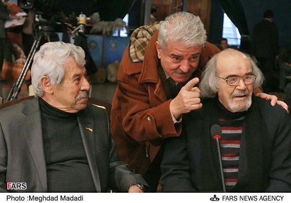 کاظم هژیرآزاد در نشست خبری سریال تلویزیونی مختارنامه به همراه داوود رشیدی