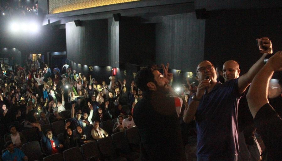 رامبد جوان در اکران افتتاحیه فیلم سینمایی نگار