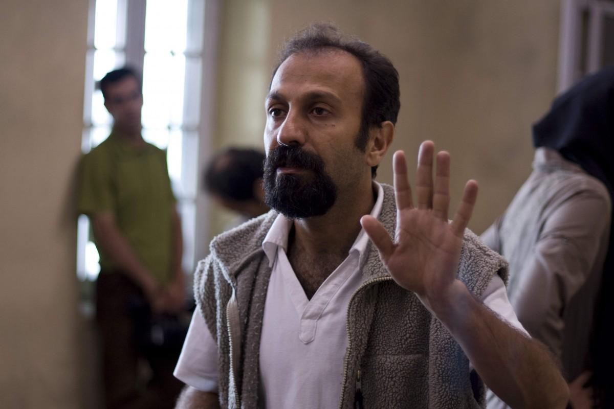 اصغر فرهادی در پشت صحنه فیلم درباره الی