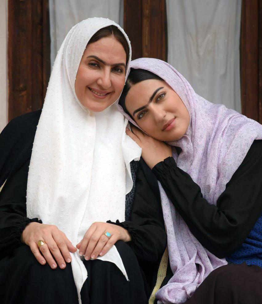 فاطمه گودرزی و هلیا امامی در فیلم سینمایی داش آکل
