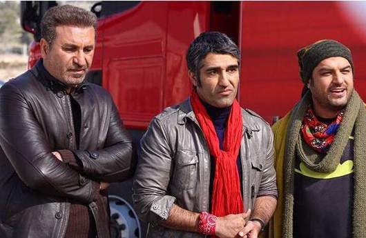 حمید فرخنژاد و پژمان جمشیدی در فیلم خوب بد جلف