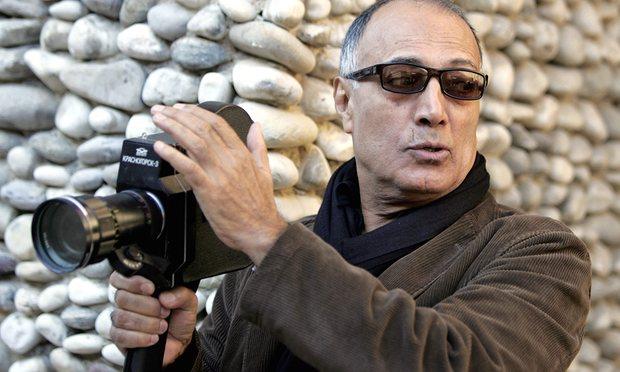عباس کیارستمی در صحنه فیلم سینمایی شیرین