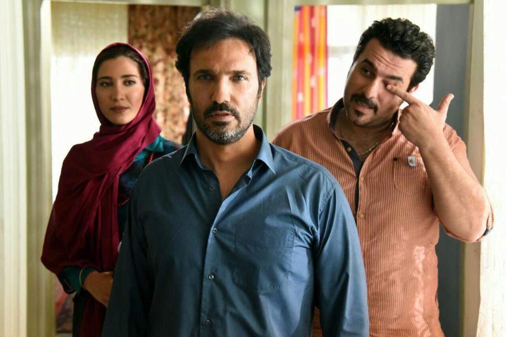 محمدرضا فروتن و محسن کیایی در فیلم نقطه کور