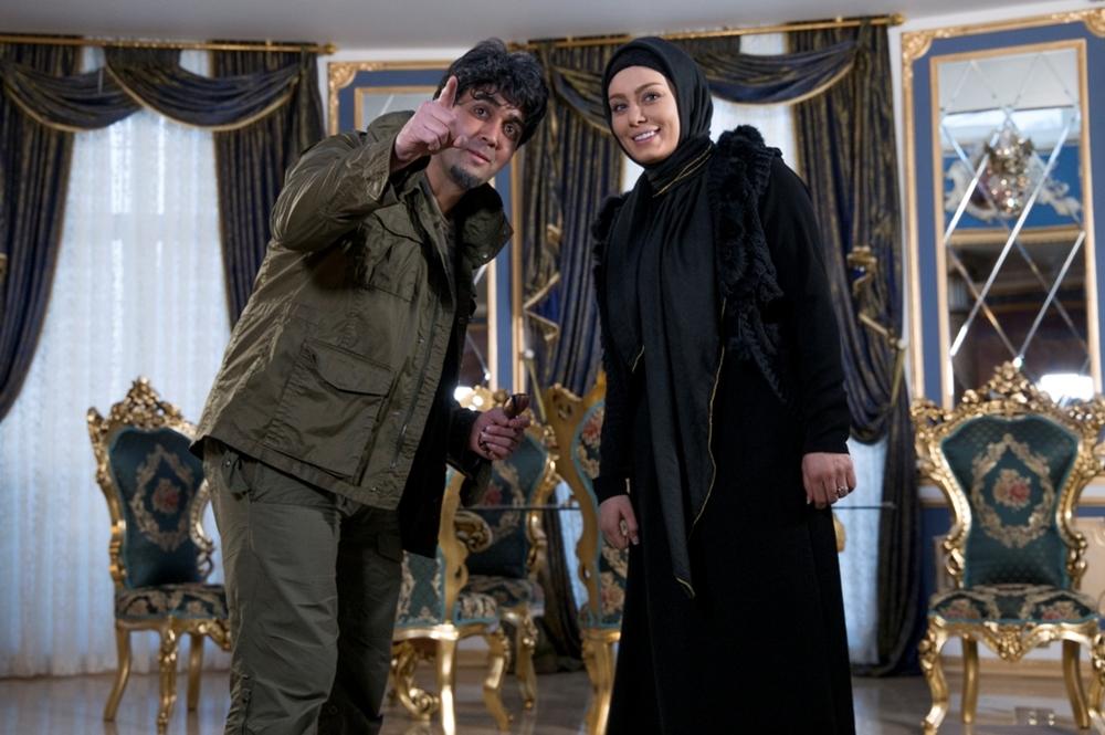 سحر قریشی و پوریا پورسرخ در فیلم سینمایی خالتور