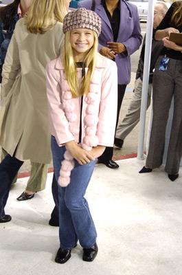 Jenna Boyd در صحنه فیلم سینمایی قطار سریع  السیر قطبی