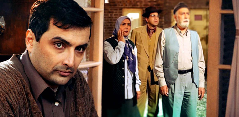 سروش صحت در پوستر سریال تلویزیونی خاطرات مرد ناتمام به همراه محمود پاکنیت، مهوش صبرکن و امین زندگانی