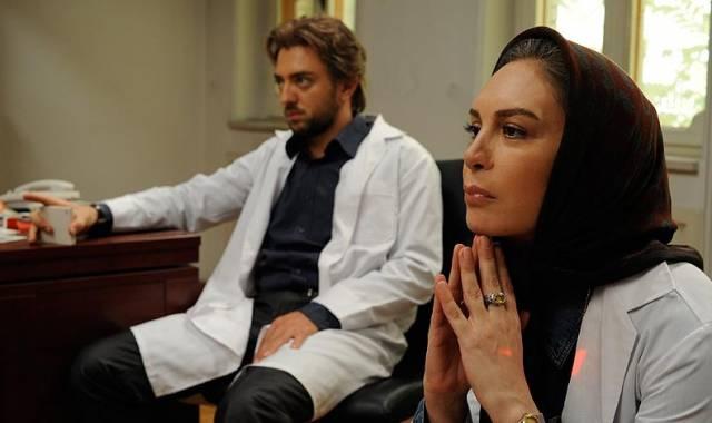 افسانه بایگان و بهرام رادان در فیلم آدمکش