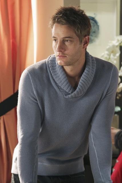 Justin Hartley در صحنه سریال تلویزیونی کستل