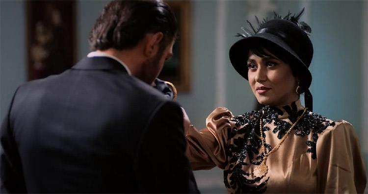 امیرحسین فتحی و پریناز ایزدیار در سریال شهرزاد 3