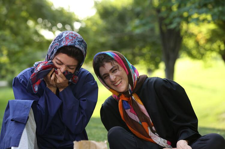 مهناز افشار و ویشکا آسایش در فیلم نهنگ عنبر 2