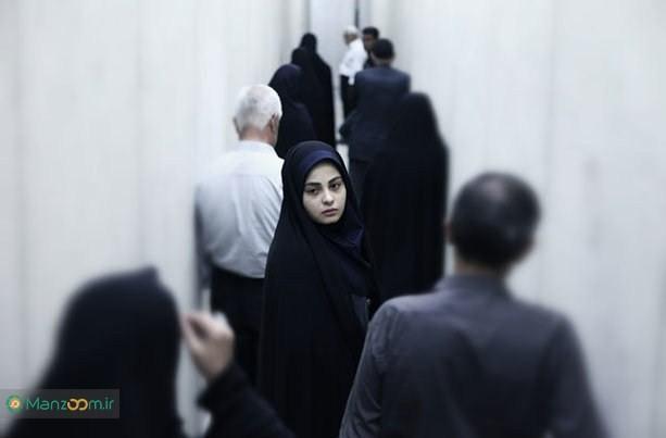 سحر احمدپور در صحنه فیلم سینمایی چهارشنبه 19 اردیبهشت