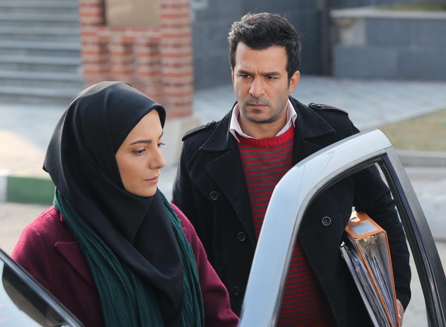 سولماز غنی و یوسف تیموری در سریال پنچری