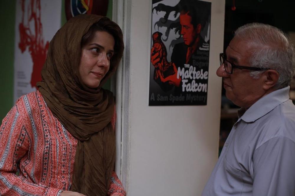 سارا بهرامی و سید فرید سجادی حسینی در فیلم ایتالیا ایتالیا
