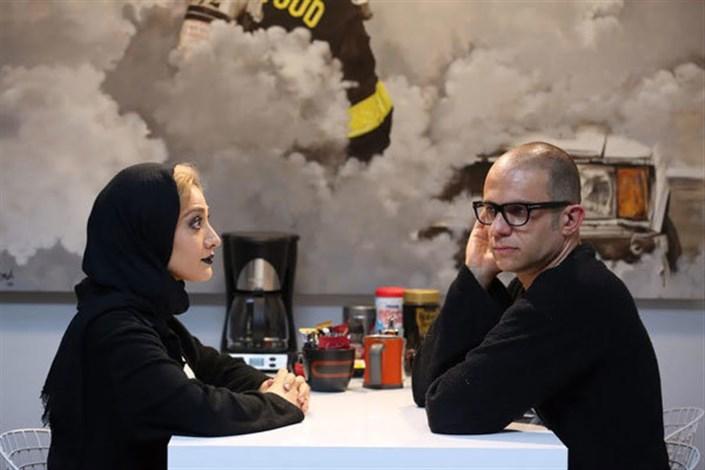 بابک حمیدیان و مینا ساداتی در فیلم سینمایی خرگیوش