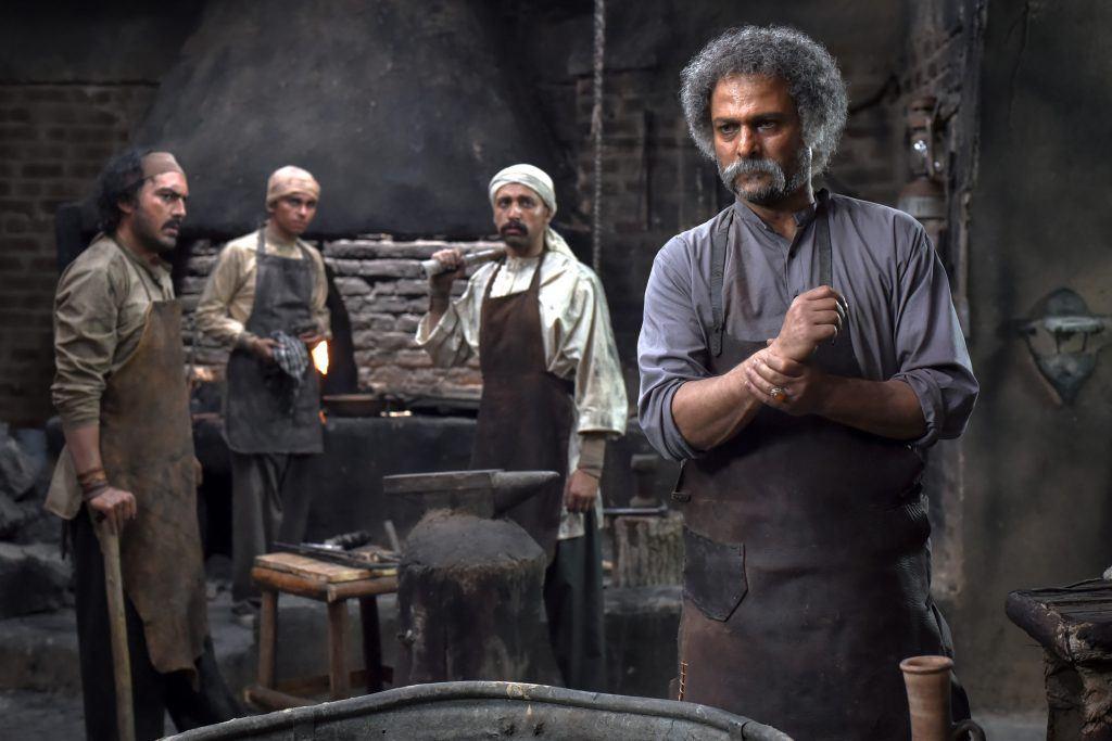 حسین یاری و نیما شاهرخشاهی  در فیلم سینمایی داش آکل