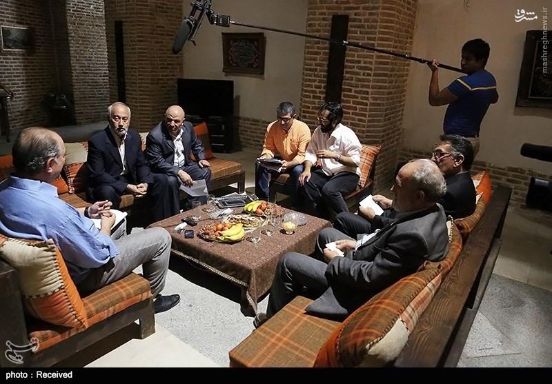 نقی سیفجمالی در صحنه سریال تلویزیونی پردهنشین