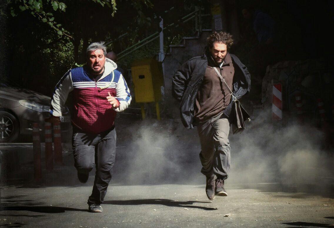 محسن کیایی و بهرام رادان در فیلم سینمایی چهارراه استانبول