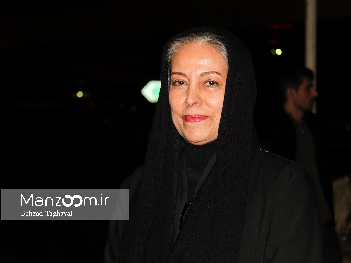 سهیلا رضوی در اکران افتتاحیه فیلم سینمایی خانهای در خیابان چهل و یکم