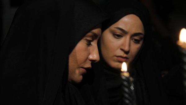 فریبا کوثری در صحنه سریال تلویزیونی کیفر